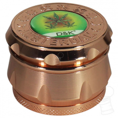 DICHAVADOR TRIFASE COPPER RESINA D&K HERB SMALL LEAVES