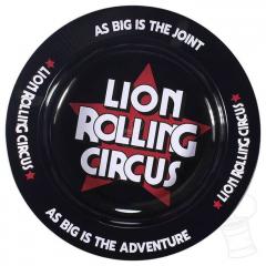 CINZEIRO LION ROLLING CIRCUS METAL BLACK