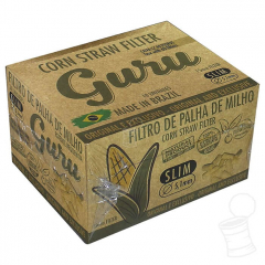 CX. FILTRO DE PALHA GURU STRAW 15X5.1MM C/60