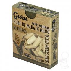FILTRO DE PALHA GURU STRAW 15X5.1MM C/60