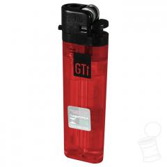 ISQUEIRO GTI GRANDE TRANSLUCENT RED