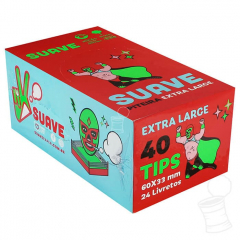 CX. TIPS SUAVE LUCHADORES EXTRA LARGE 66 X 33 MM