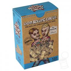 TIPS LION ROLLING CIRCUS PRE ENROLADOS REGULAR 6 MM