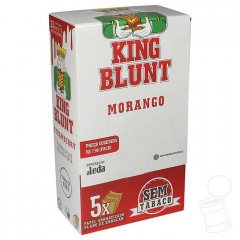 CX. SEDA AROMAIZADA KING BLUNT MORANGO